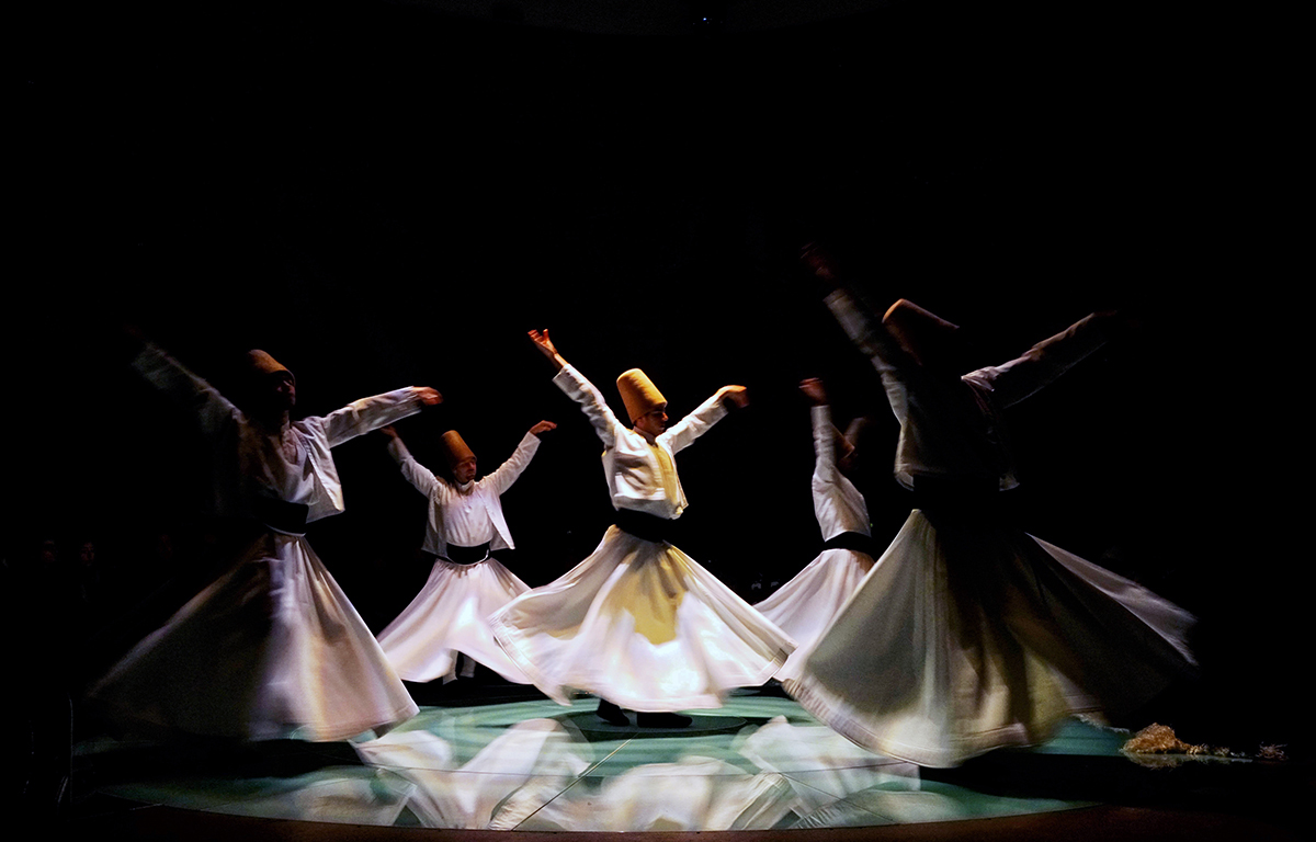 Day 19 —Sirkeci, Hodjapasha Turkish Bath - Whirling Dervish performance.