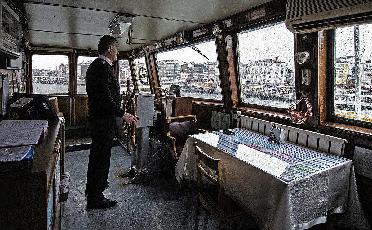 Day 5 —Kadıköy, Eminönü City Lines - An İstanbul ferryboat captain.