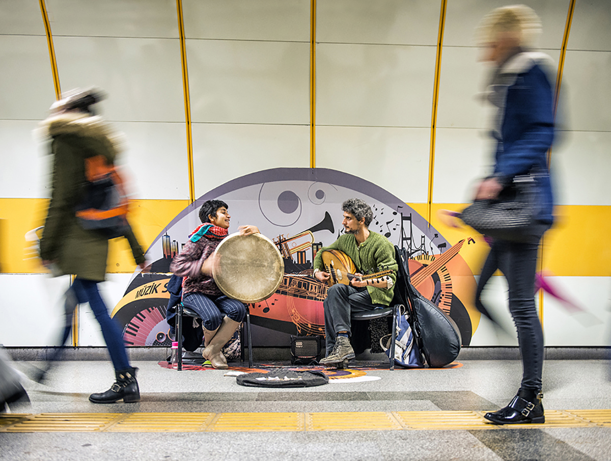 #7 —Subway Station - 