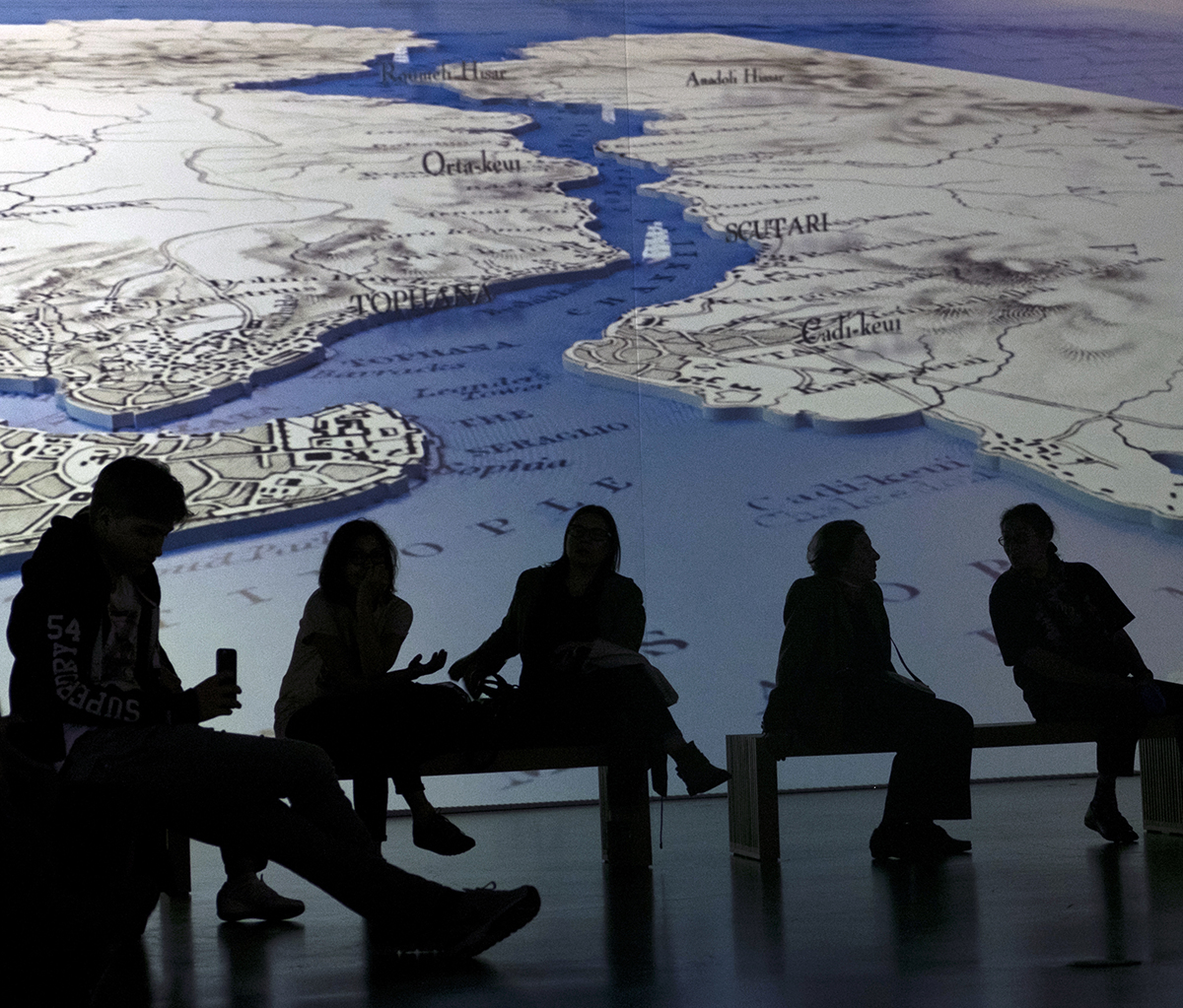 Day 99 —Beşiktaş -  İstanbul Maritime Museum. The 'Picturesque Istanbul' digital exhibition.