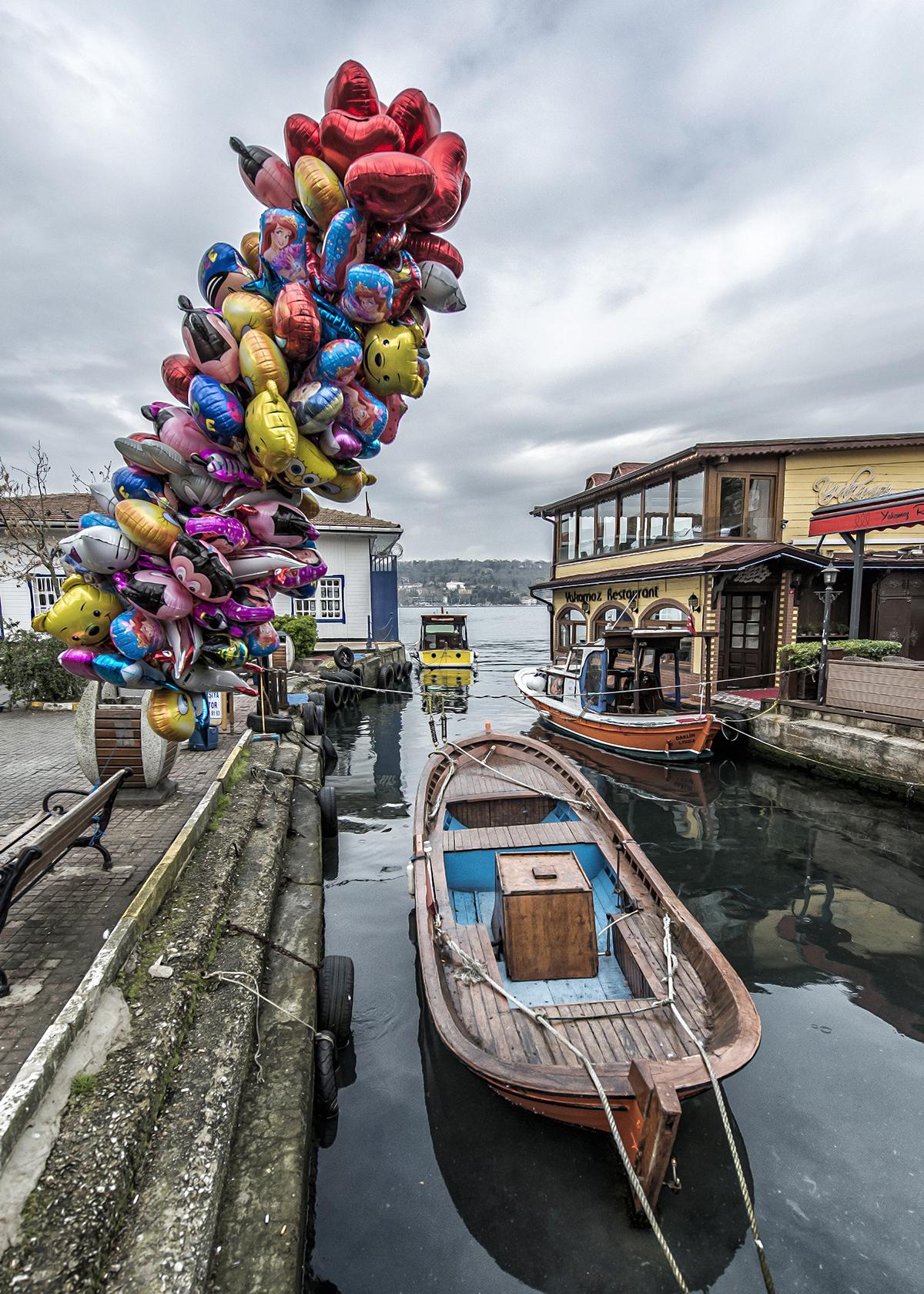 #79 —Kanlıca –  Shuttle boats for the Kanlıca-Emirgan crossing.