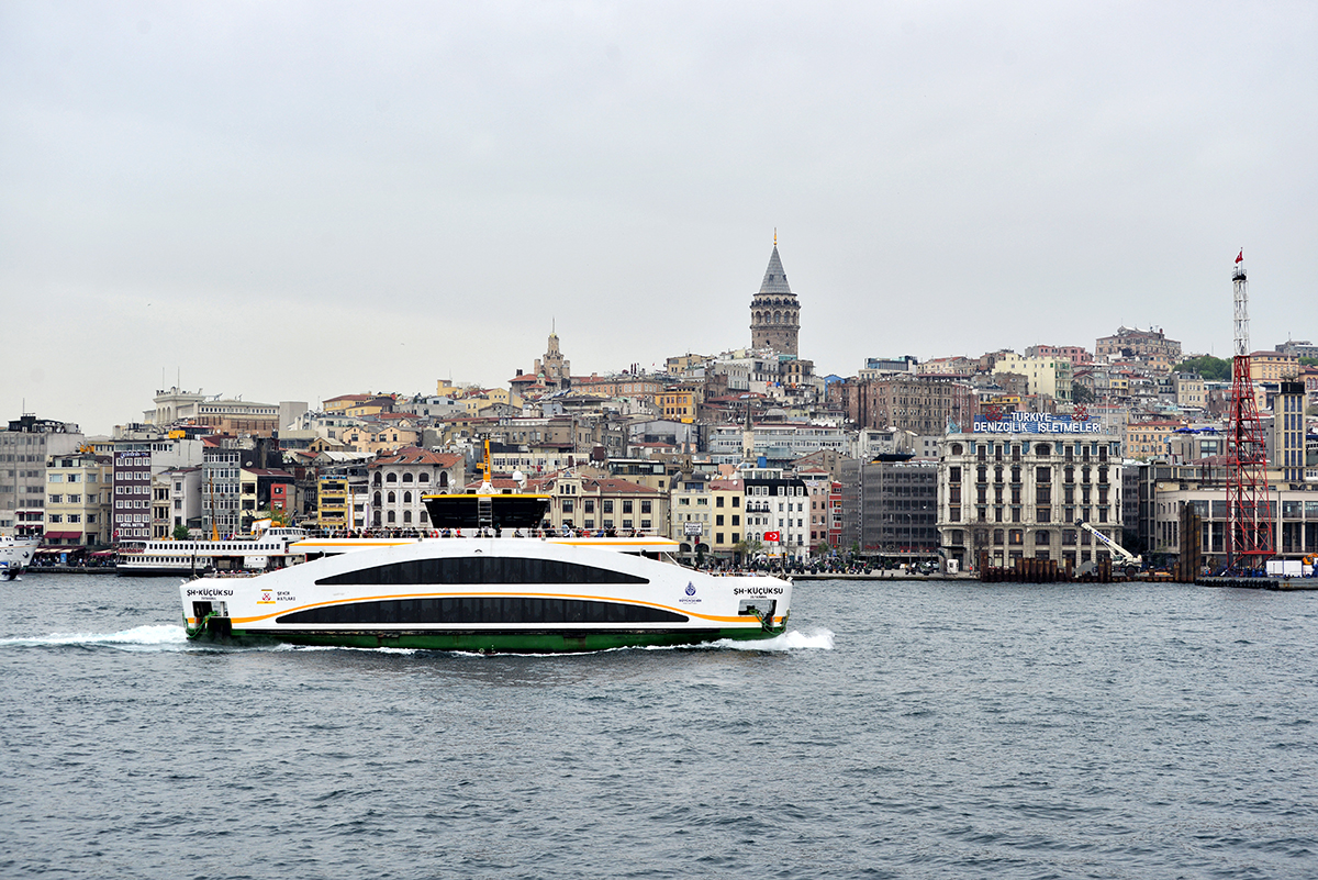 #105 —Sirkeci - Harem Ferryboat -