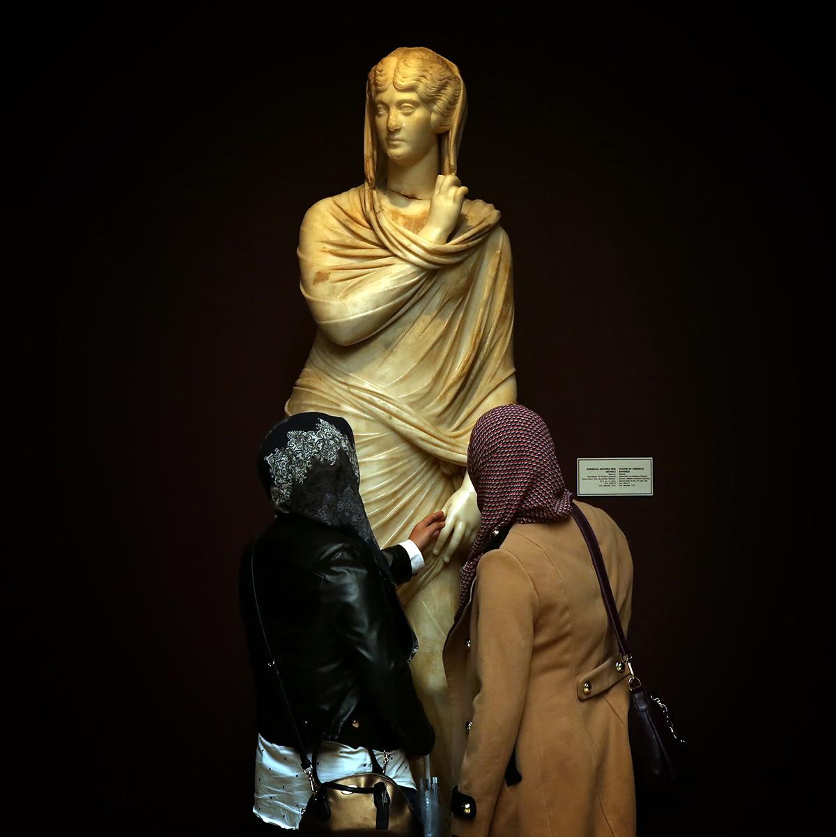 #125 —Gülhane –  İstanbul Archaeology Museum. Statue of Cornelia Antonia.