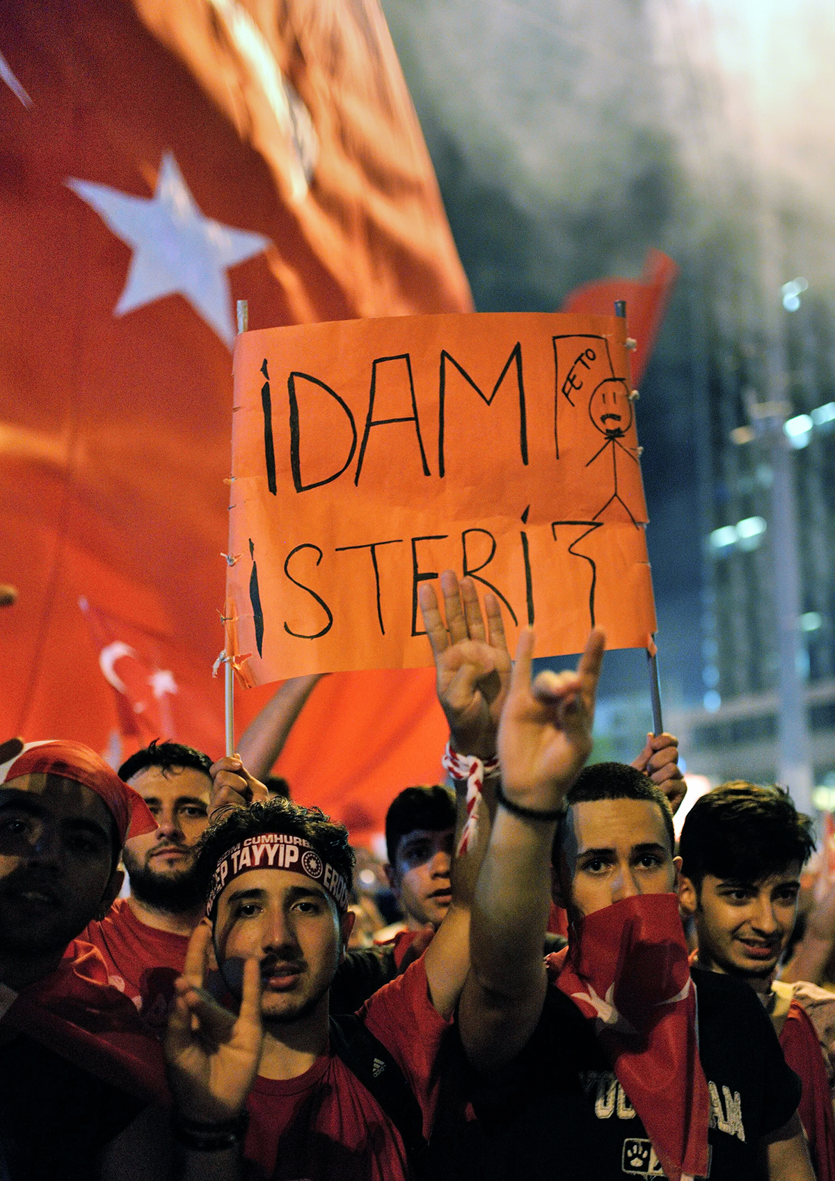 #200 —Taksim Meydanı - Protests after the July 15 coup attempt.
