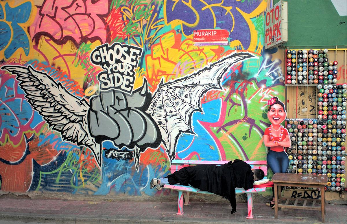 #191 —Karaköy -  Graffiti.