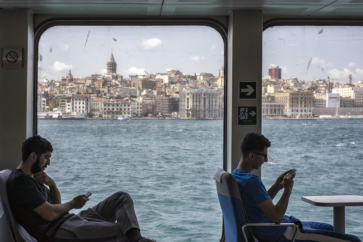 Day 223 —Harem-Sirkeci Car Ferry -  A Bosphorus Tour.