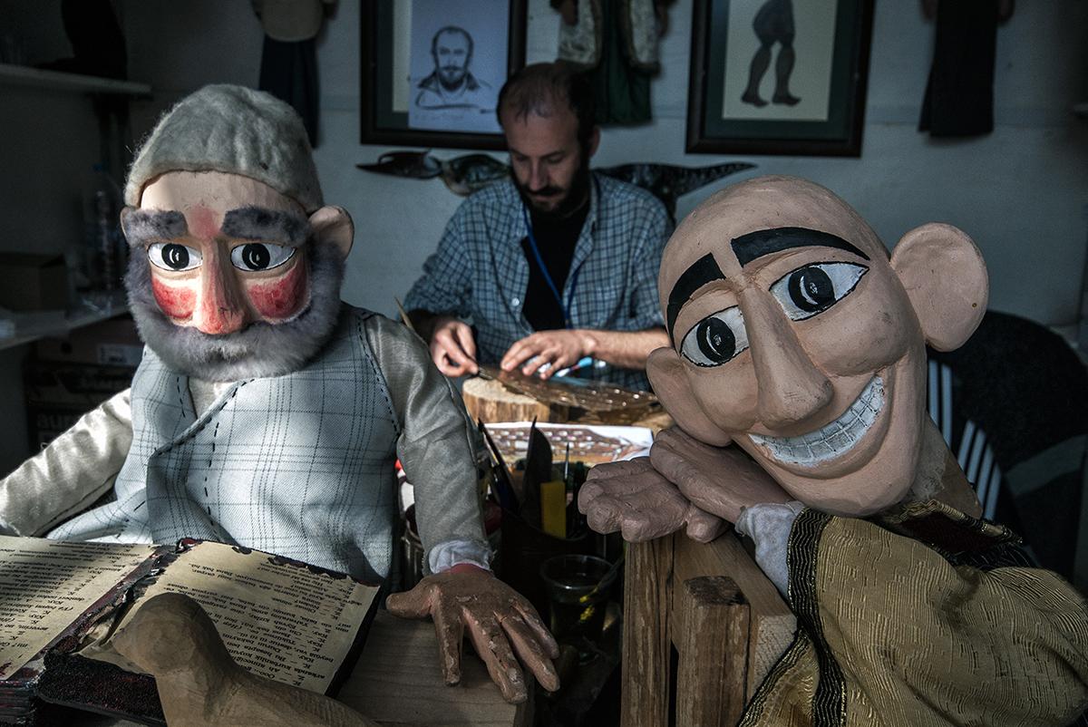 Day 288 —Taksim -  Puppet artistry.