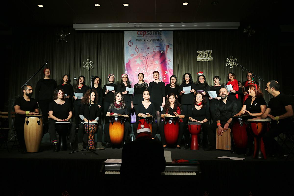 Day 363 —Ortaköy –  A concert rehearsal at Cep Sahne.