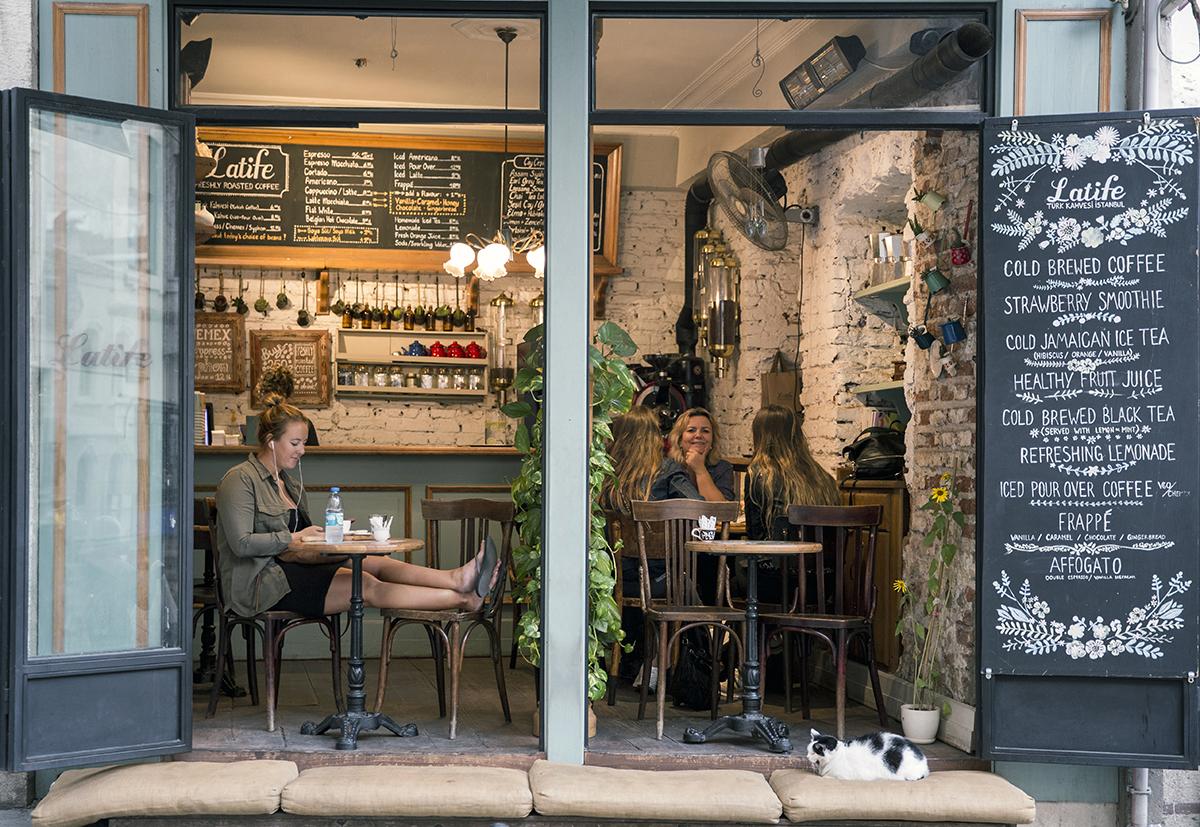 #271 —Galata -  Latife Turkish Coffee Shop.