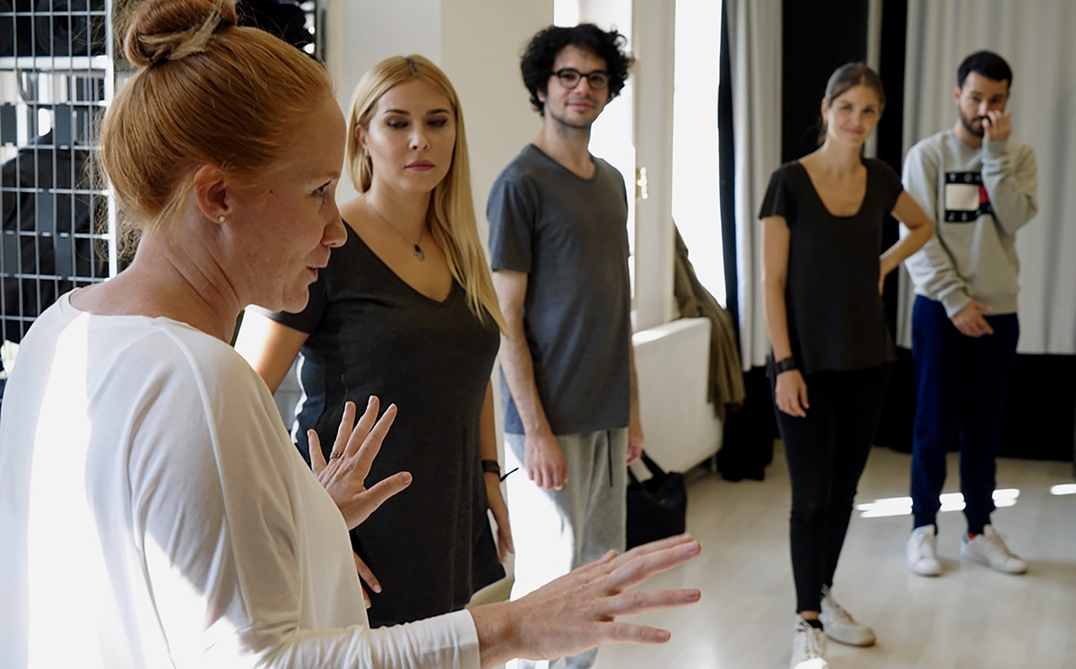 Day 273 —Kadıköy - Craft Theatre. Acting workshop.
