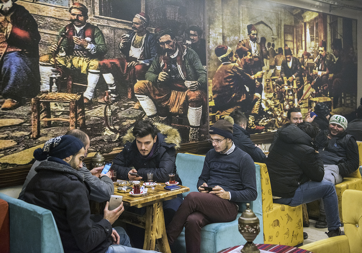 Day 365 —Beyoğlu –  Shisha cafes.