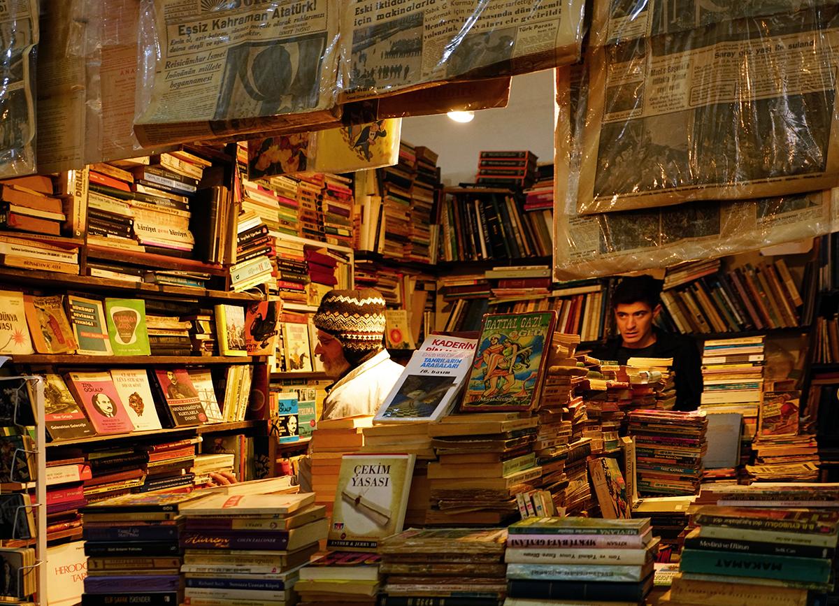 Day 292 —Üsküdar -  Üsküdar Square, Bookseller's Festival.